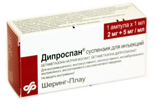 Дипроспан при псориазе курс лечения и отзывы