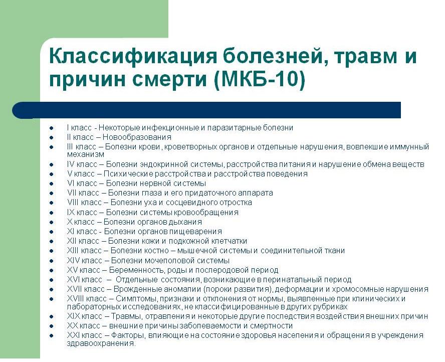 Мкб 10 шифр мед украина