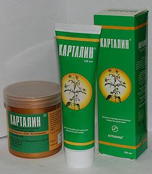 Мазь от псориаза Карталин: эффективность, показания и отзывы